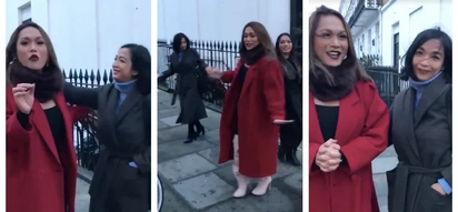The hilarious antics of KaladKaren Davila, Ate Glow, and Mocha Usok in the streets of London