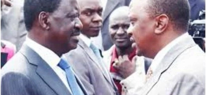 Count yourself very lucky you are still vying for presidency- Raila to Uhuru