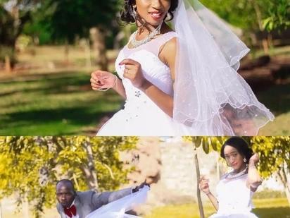 Dadaye Dj Mo afunga pingu za maisha kwa sherehe ya kifahari(picha)