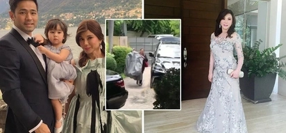 Dumating na! Excited bride Vicki Belo welcomes Michael Cinco who personally delivered her wedding gown and she's giving fans a sneak peek!