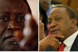 A furious Raila FIRES shots at Uhuru, Jubilee after GSU were deployed to stop a night vigil organized for the striking doctors