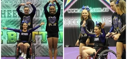 Video of special ability cheerleading team took first place at a competition is so inspiring
