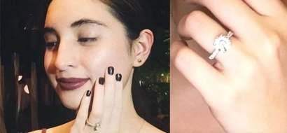 Drool over Coleen Garcia's sparkling diamond ring