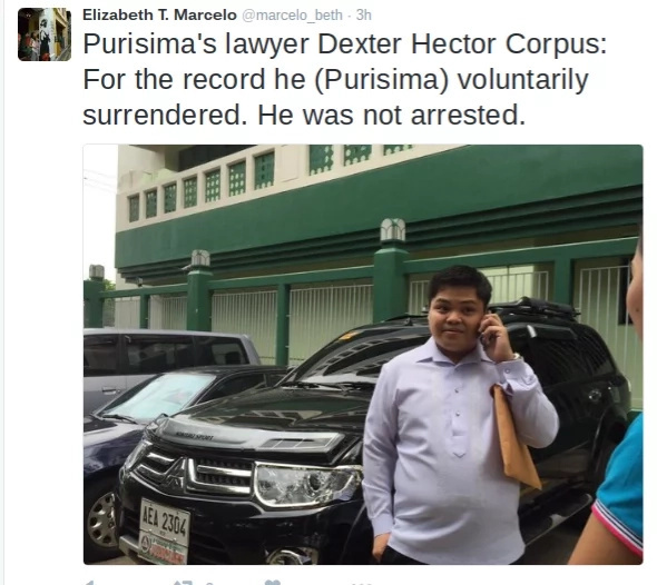 WATCH: PNP Chief Purisima posted bail after arrest at NAIA 3