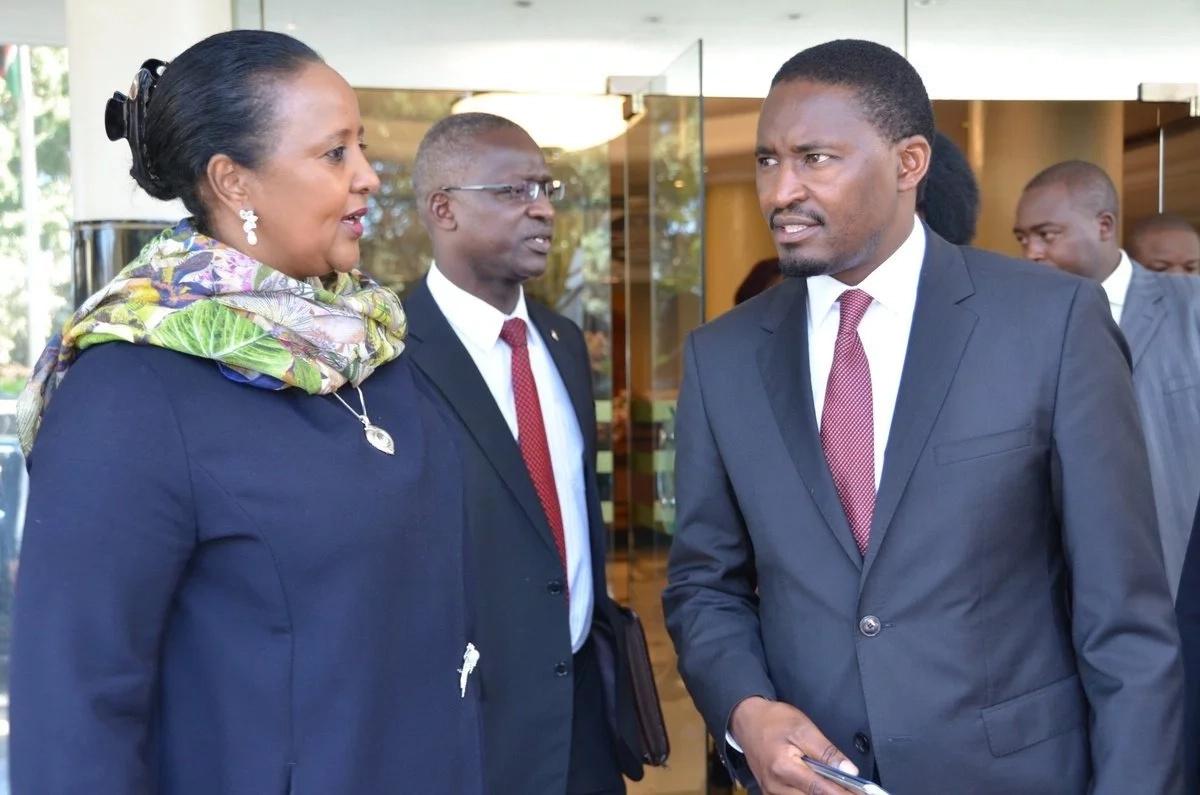 Kenyan Cabinet Secretaries Two Cabinet Secretaries Write Resignation Letters To Uhuru Tuko