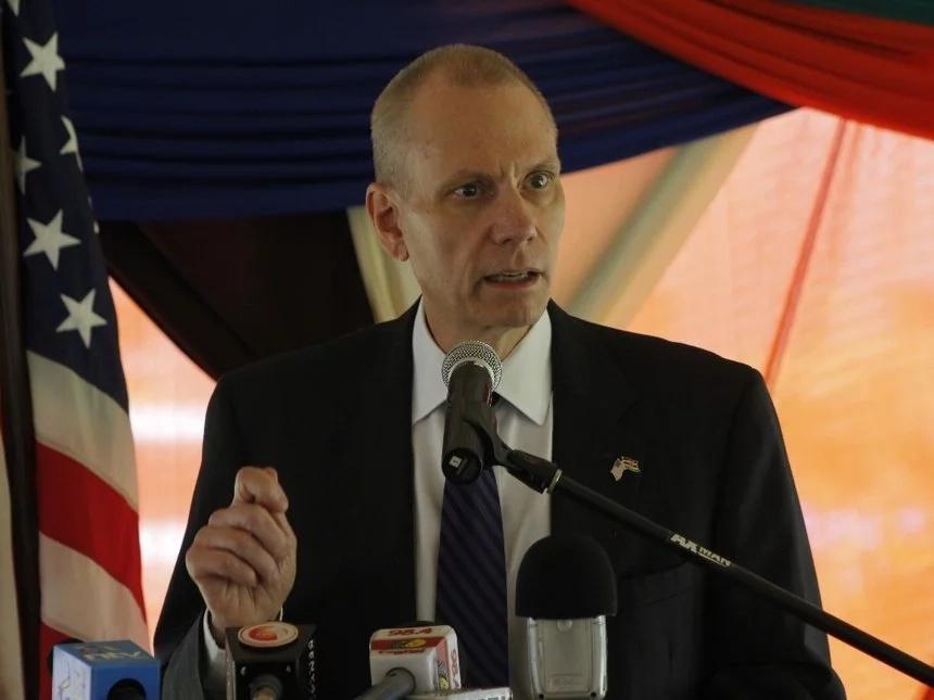 NASA leaders plot to kick out of the country US envoy Bob Godec