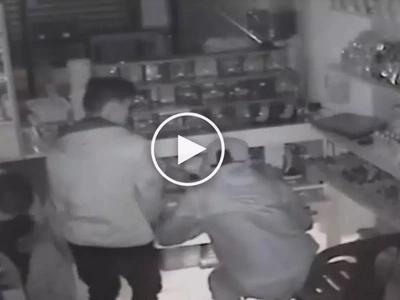 Pati ba naman tahanan ng Diyos, pinatos! CCTV footage reveals two Pinoys stealing church's donation box