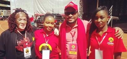 Warembo wa chama cha Jubilee wawazuzua wanaume mitandaoni (picha)