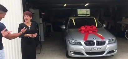 Two Brothers Save Up For Five Years To Surprise Their Mother A New Car