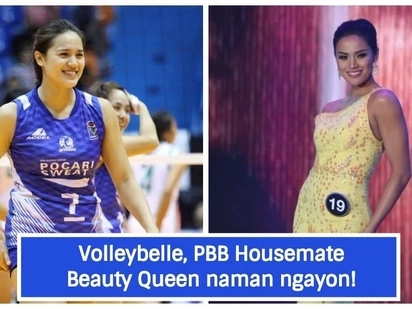 Volleyball star turned Beauty Queen! Michelle Gumabao to represent Philippines in Miss Globe 2018
