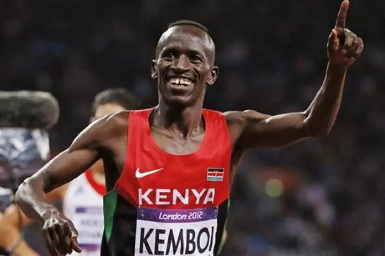 Ezekiel Kemboi finishes third in 300m steeplechase qualifying