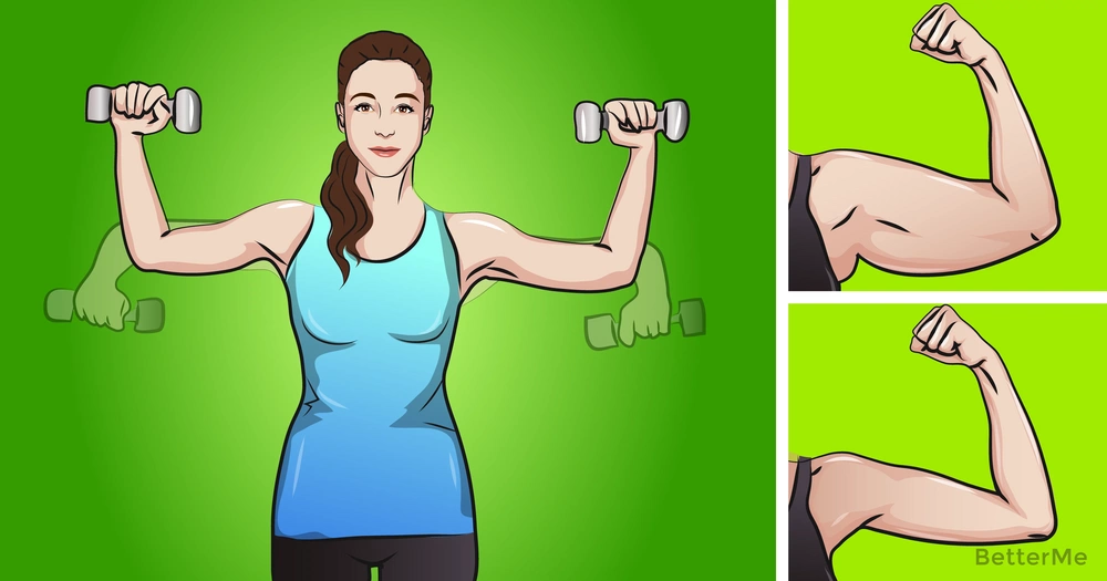 4 easy exercises for well-toned arms