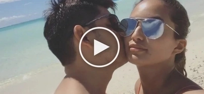 Richard Gutierrez can't get his eyes and lips off Sarah Lahbati