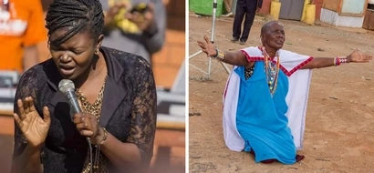 Maasai woman's POWERFUL gesture shows just how much Kenyans believe in God