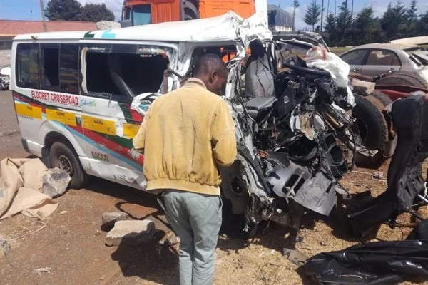 At least 17 people confirmed dead in another gory accident along Thika-Garissa highway