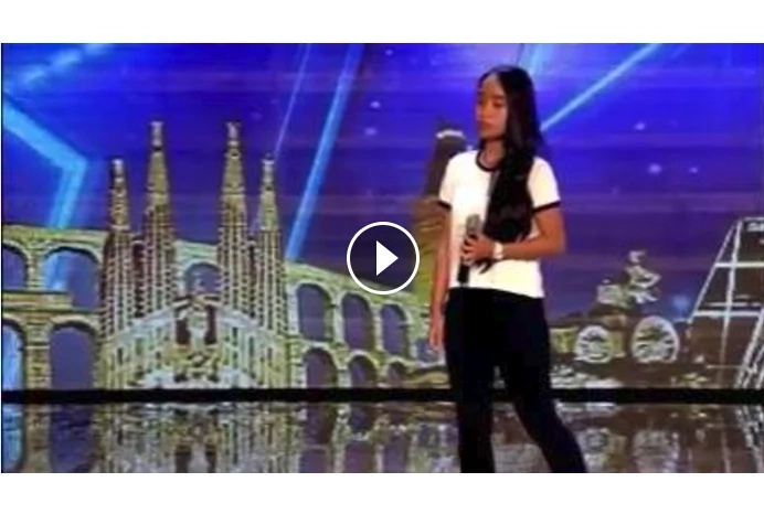 Outstanding performance from Pinay high-school student received a golden buzzer in Got Talent España