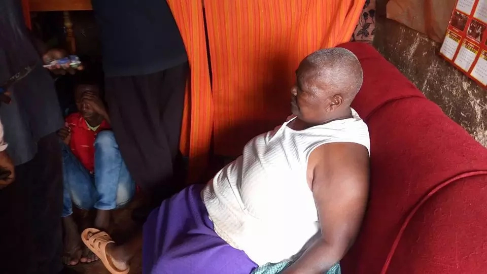 64-year-old granny caught hiding bhang in her privates(photos)