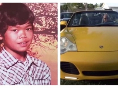 This Pinoy was abandoned by his parents and became a street kid. He is now a successful scientist in the US, driving his own Porsche car!