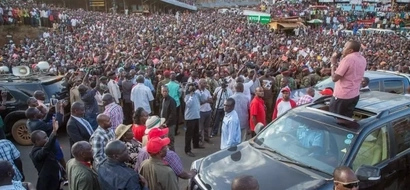 After shutting down THARAKA NITHI with massive crowd, Uhuru gives them this
