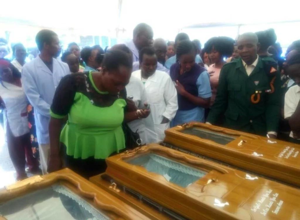 Kids tio be buried