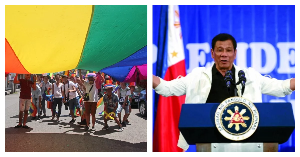 Duterte asked for LGBT representative to urban poor commission