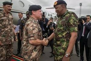 What Jordanian King has promised KDF fighter pilots