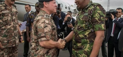 What Jordanian King has promised KDF fighter pilots