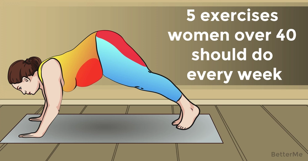 Top 5 moves women over 40 should do every week