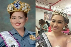 Pulis na, beauty queen pa! Filipina cop wins Ms Hope International 2016