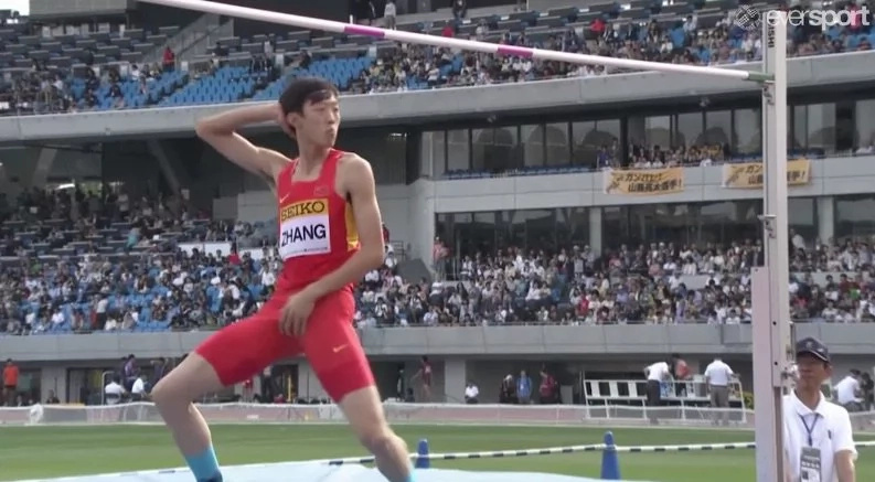 This Chinese athlete's dance went viral across the internet
