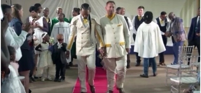 Interracial gay couple gets married by bisexual pastor: Our Perfect Wedding left fans shook