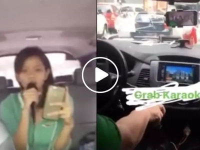 This Grab driver is a dream come true for karaoke fans with his awesome service