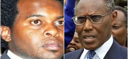 Did late Saitoti's son Zachary Wed in secret?