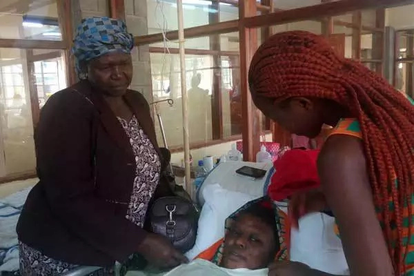 Woman forgives husband who attacked her with sharp panga