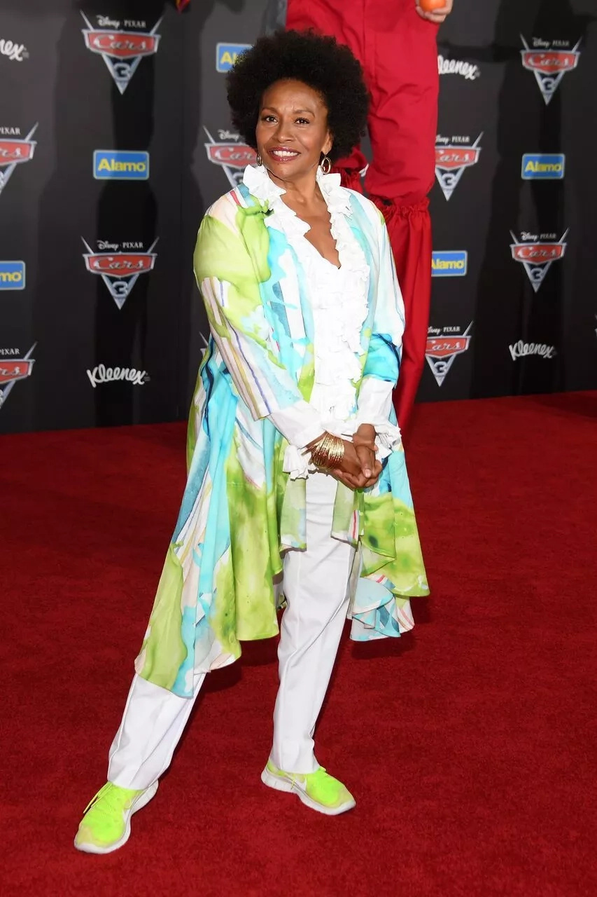 """Actress Jenifer Lewis attends the premiere of """"Cars 3"""" at Anaheim Convention Center on June 10, 2017 