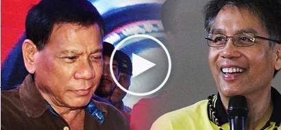 Roxas surprisingly praises rival Duterte