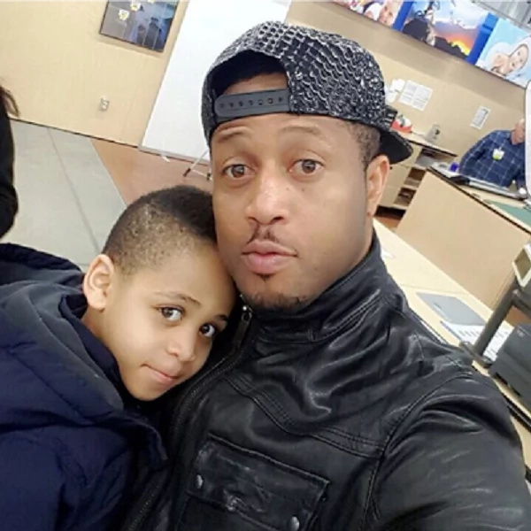 5 photos that prove Nigerian actor Mike Ezuruonye has the cutest son and wife