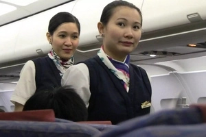 Look what this flight attendant did after offering a mother and her baby a ride!