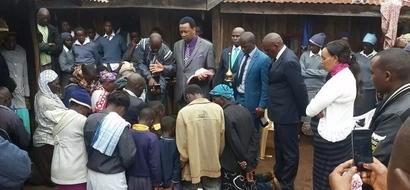 MAPEPO yalaumiwa kwa kuhangaisha familia Murang'a (picha)