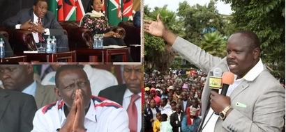 You must account for the billions you used to campaign for Amina Mohammed - Ruto tells Uhuru