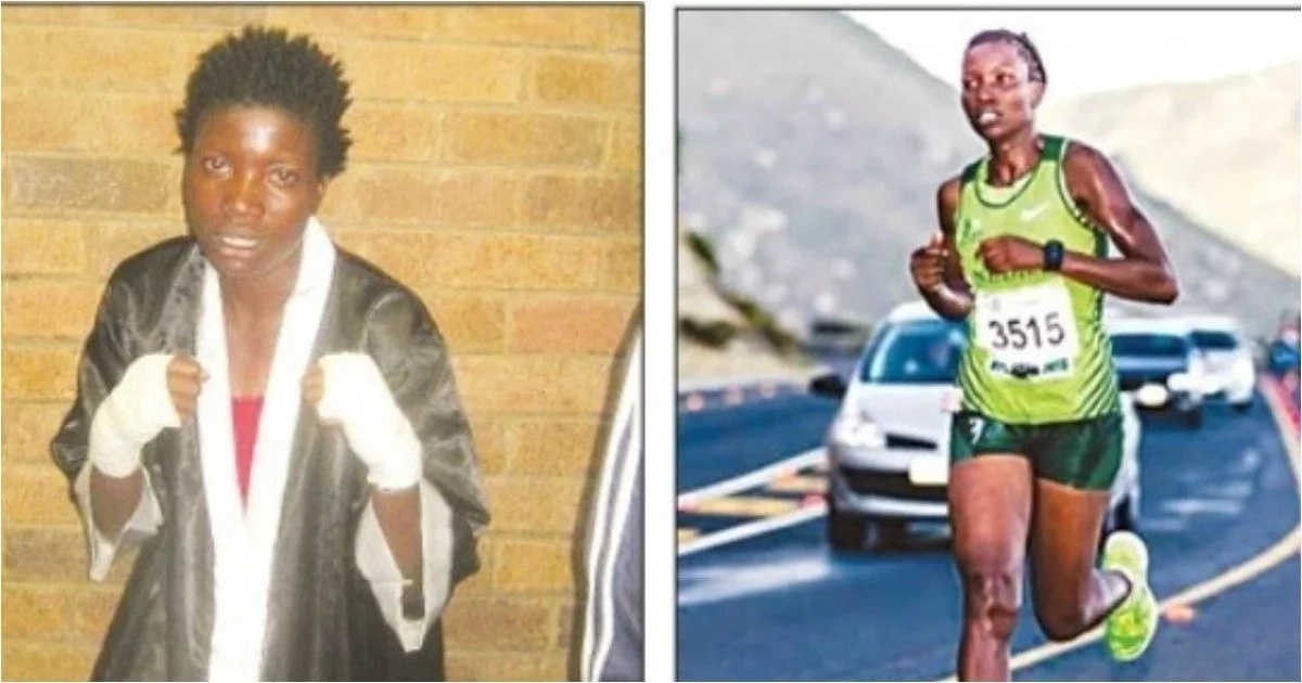 Meet woman, 30, a boxer and marathon runner - and excelling in both