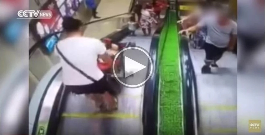 3 videos prove China has problems with its escalators