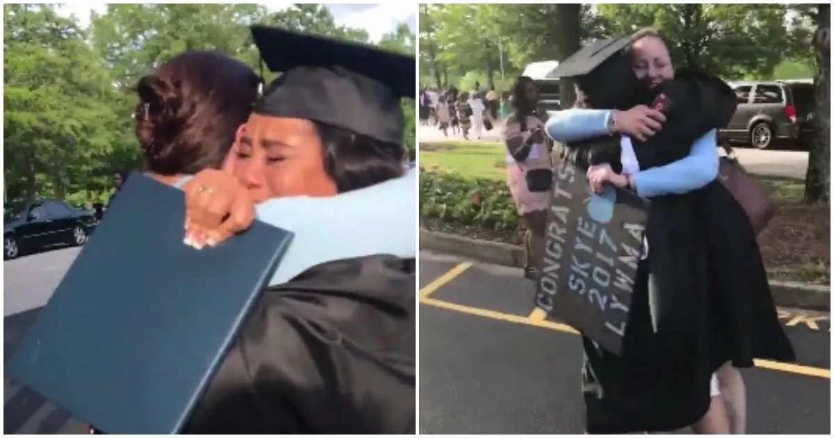 This video tribute of graduating woman to her mother will touch your heart (video)