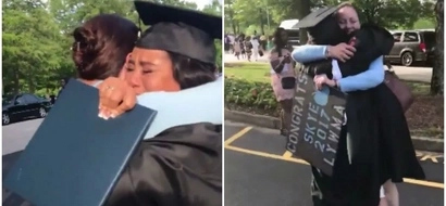 A mother's inspiration! This video tribute of graduating woman to her mother will TOUCH your heart (video)