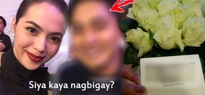 Sino kaya? Flattered Julia Montes receives beautiful bouquet of roses on her birthday from...You'll never guess who...