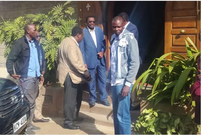 The exact spot where IEBC manager for ICT's body was discovered