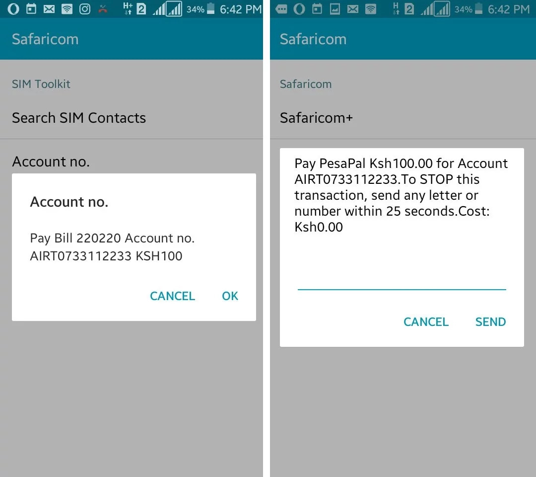 how to send voice message from airtel mobile