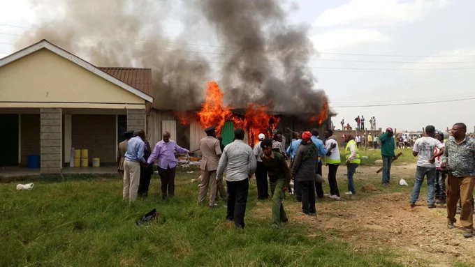 Mavoko MP arrested over burning of Syokimau AP camp