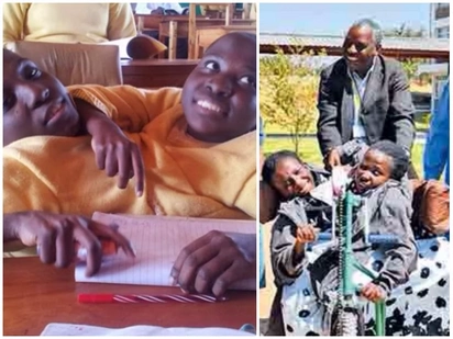 They made it! Tanzania's conjoined twins, 19, join university, attend their first computer class