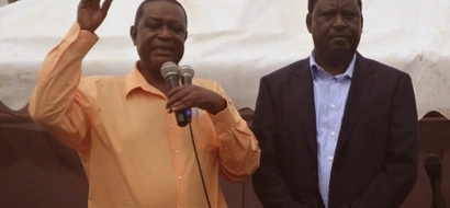 Raila's brother - Oburu Odinga - on the receiving end over ODM affairs